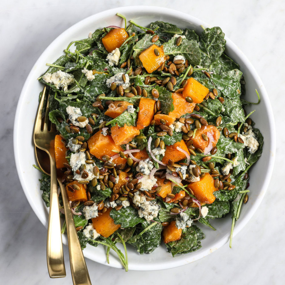 Savory Kale Salad Recipe - Amanda Mack | Food & Wine