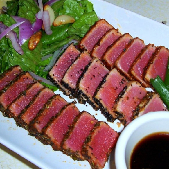 Seared Ahi Tuna Steaks Photos - Allrecipes.com