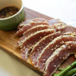 Seared Ahi Tuna Steaks With Dipping Sauce – What Great …