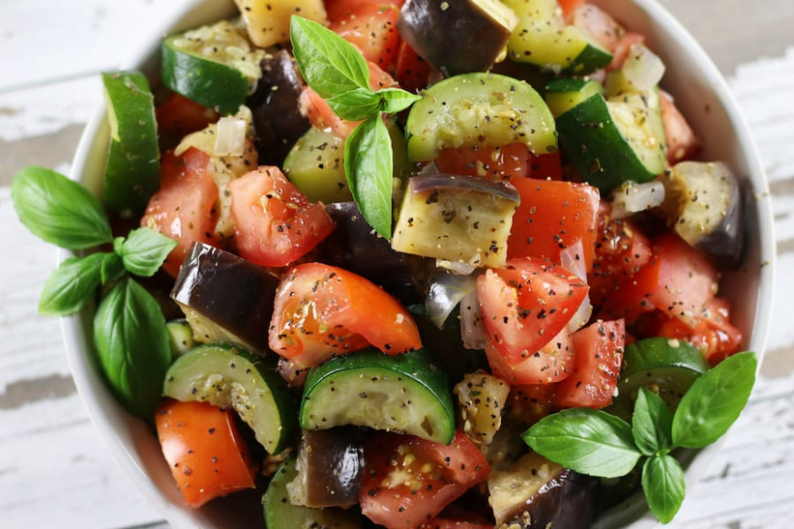 Secrets To The Best Light Easy Ratatouille- The Fed Up Foodie