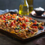 Sheet Pan Chicken Nachos | Ready Set Eat