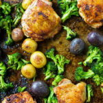 Sheet Pan Chicken With Roasted Broccoli And Potatoes …