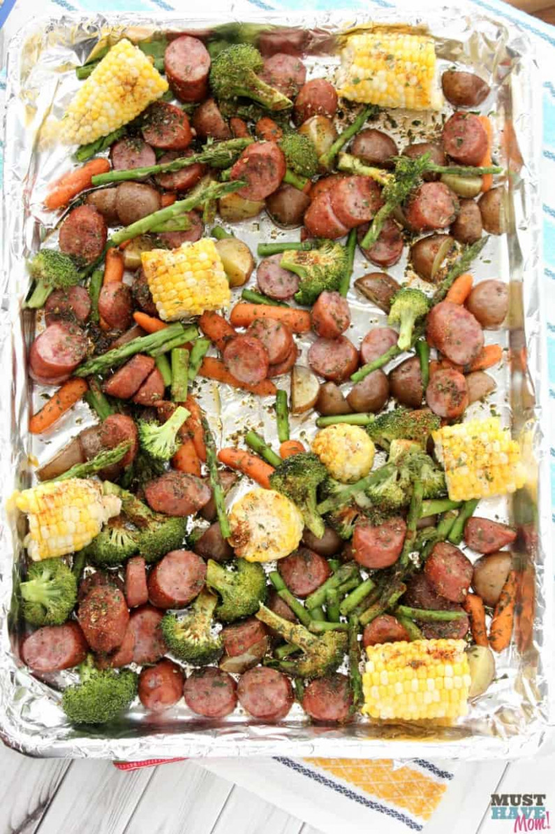 Sheet Pan Dinners Easy Sausage & Veggie Recipe! – Must …