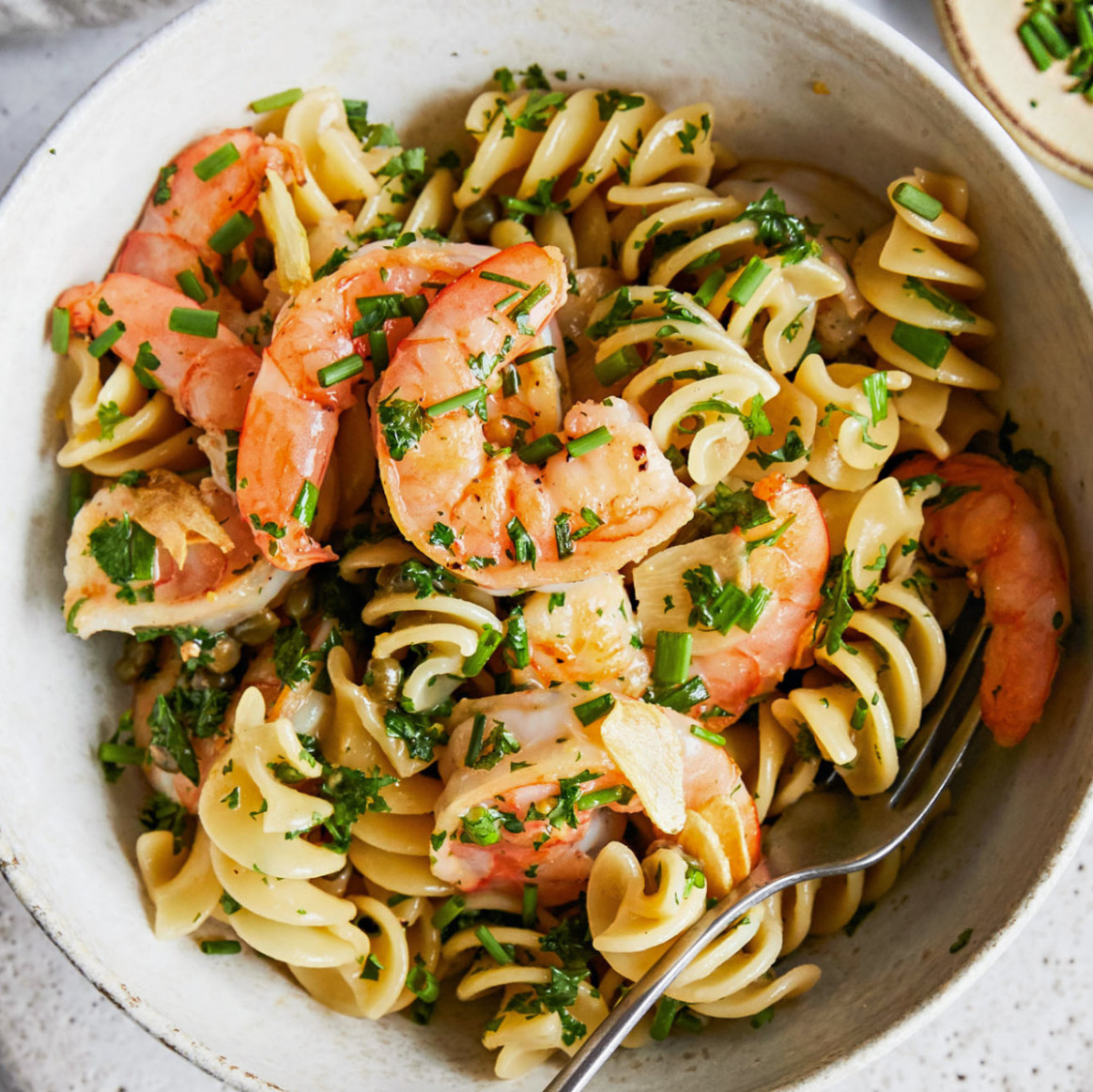 Shrimp Pasta Piccata Recipe - Rachael Ray Every Day