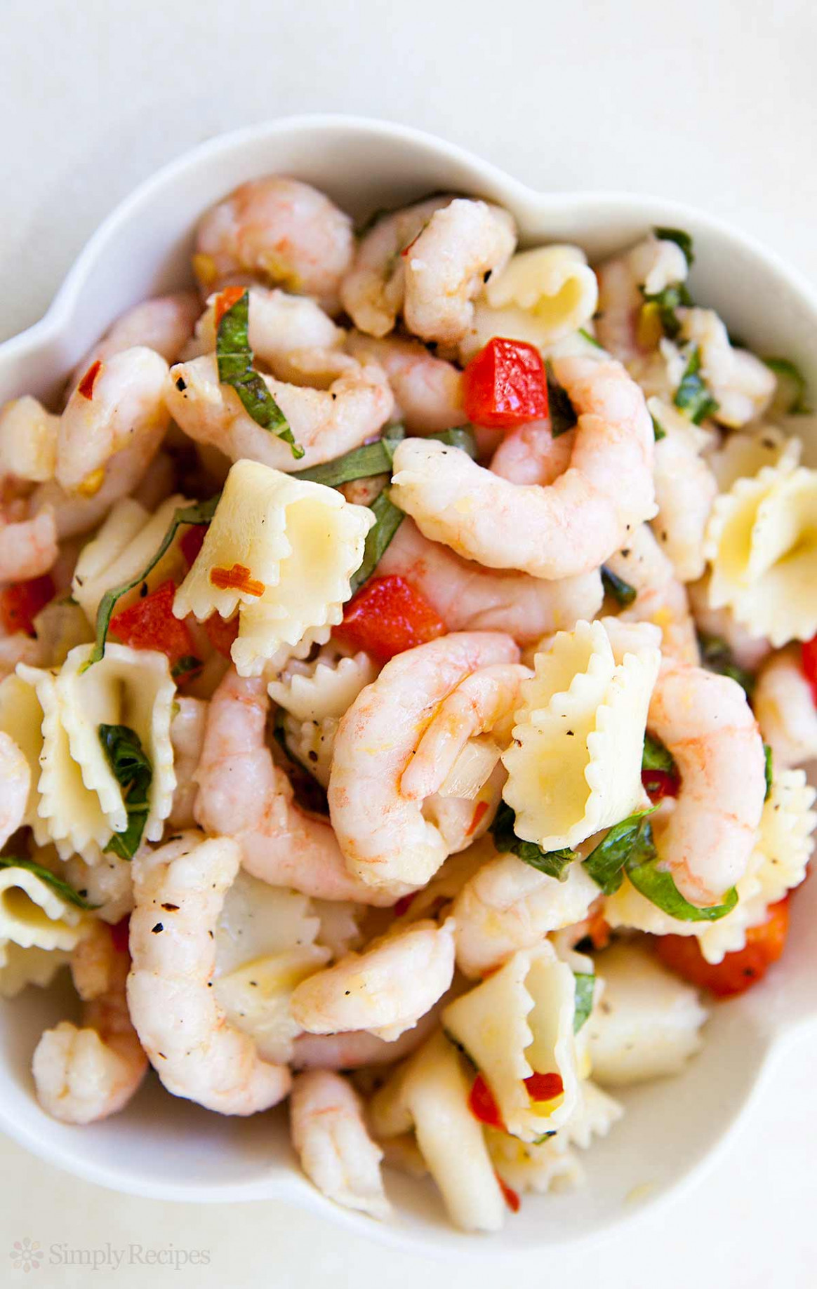 Shrimp Pasta Salad Recipe | SimplyRecipes.com