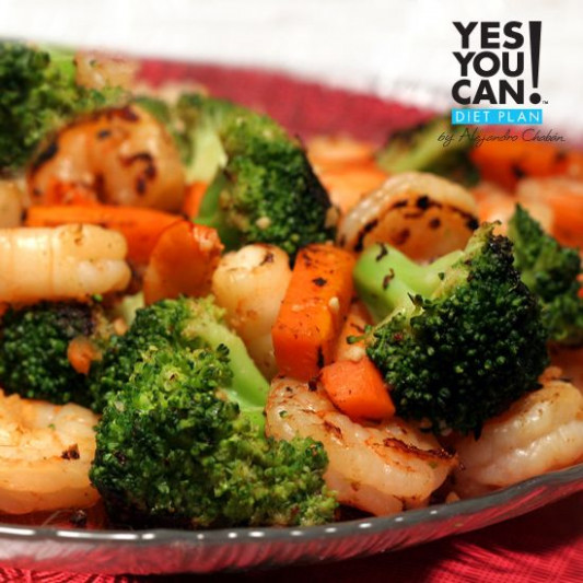Shrimp Stir Fry a Yes You Can Diet Plan Dinner Recipe ...