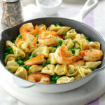 Shrimp Tortellini Pasta Toss Recipe | Taste Of Home