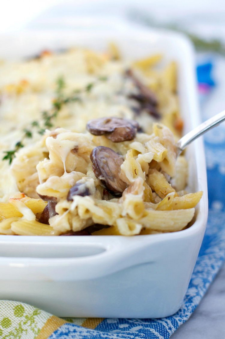 Simple Chicken and Mushroom Casserole ...