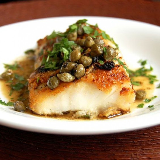 Simple Cod Piccata | Recipe | Himalayan salt, Salts and ...