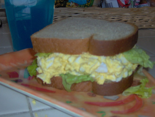 Simple Homemade Egg Salad Sandwich Recipe - Food