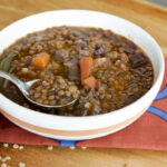 Simple Lentil Soup Recipe Vegetarian