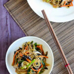 Simple One Pan Korean Glass Noodles (Japchae) Recipe …
