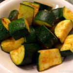 Simple Oven Baked Zucchini • Oh Snap! Let's Eat!