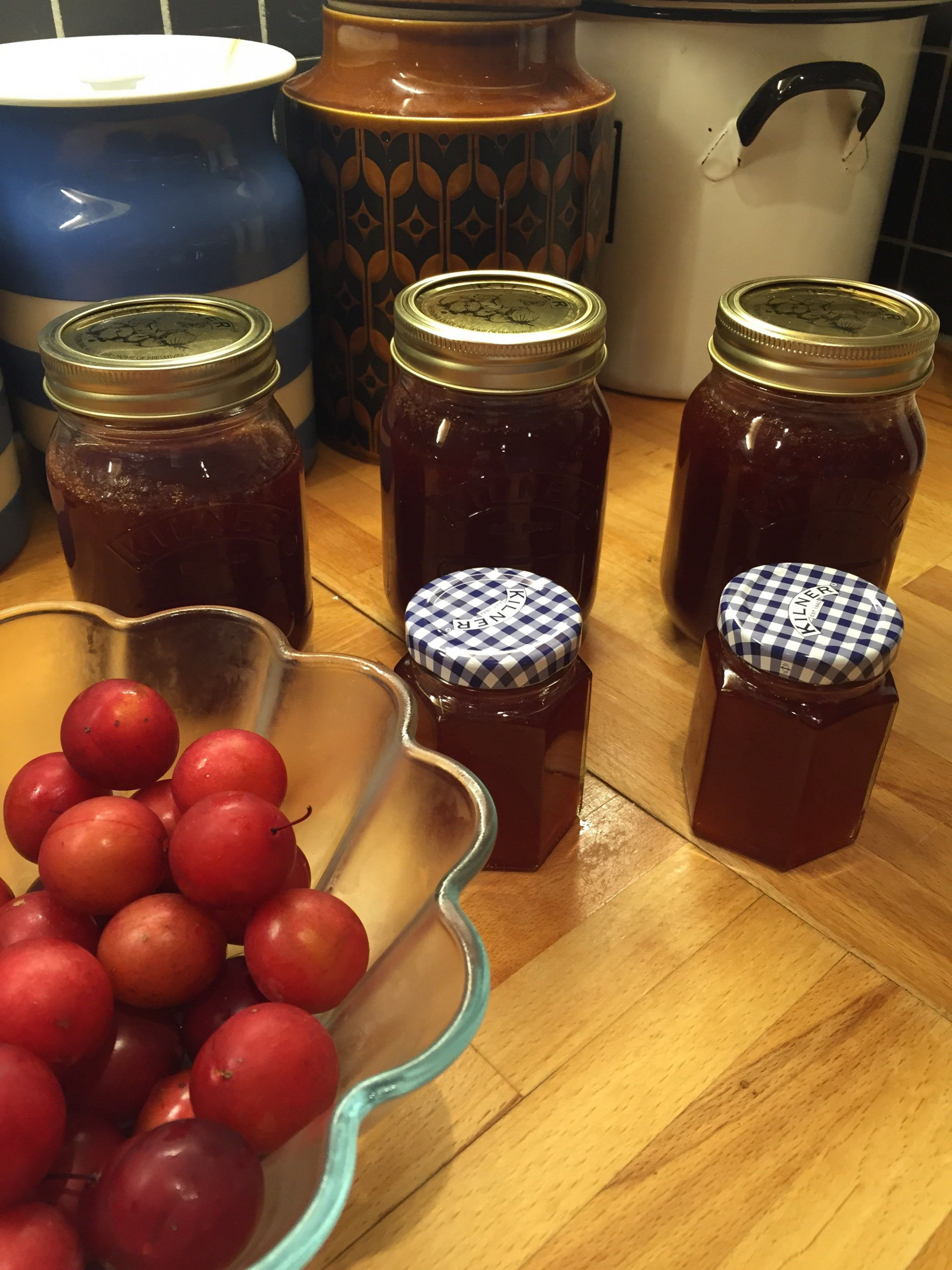 Simple plum jam recipe - All recipes UK