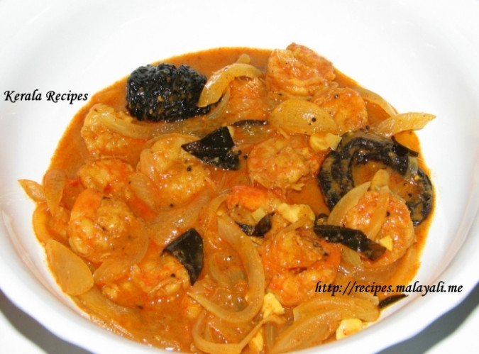 Simple Prawns Curry (Kerala Chemmeen Curry) – Kerala Recipes