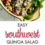 Simple Quinoa Salad Recipe — Dishmaps
