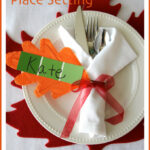 Simple Thanksgiving Place Setting – Cooking With Ruthie