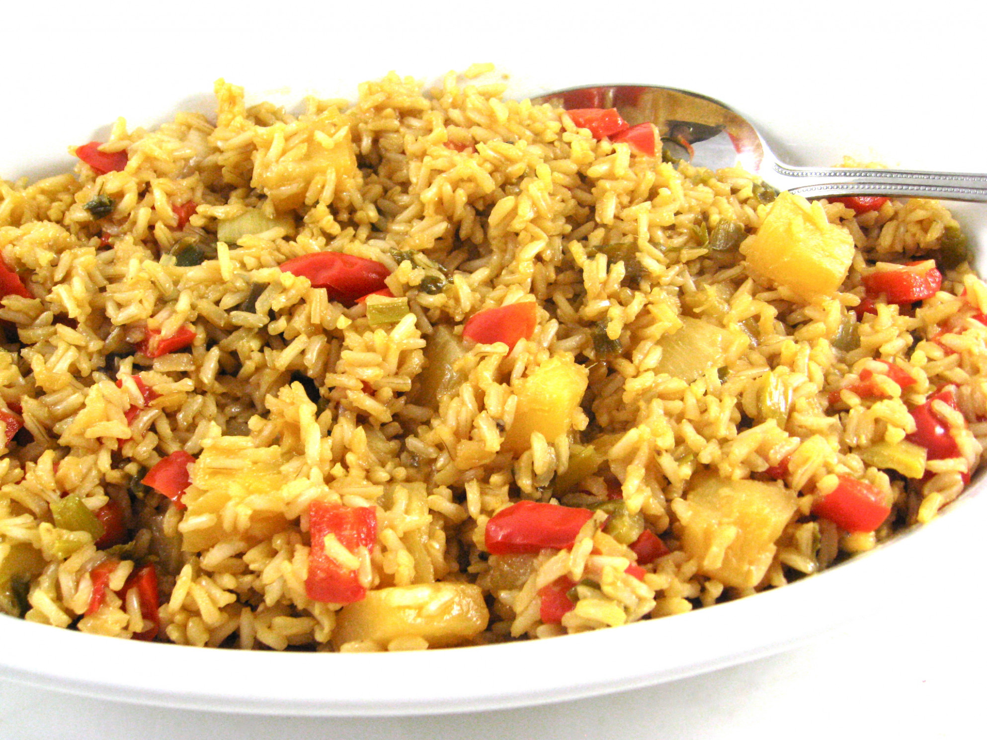 Simple to Make and Very Healthy, Pineapple Brown Rice with ...