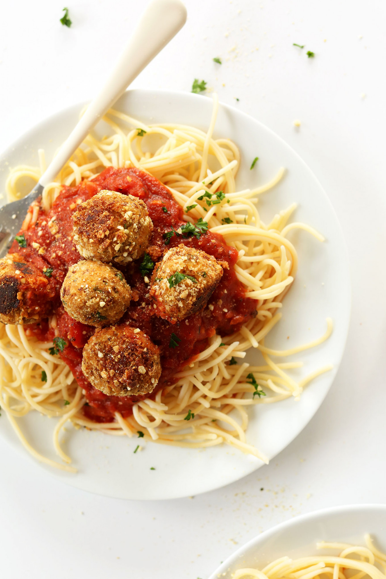 Simple Vegan Meatballs