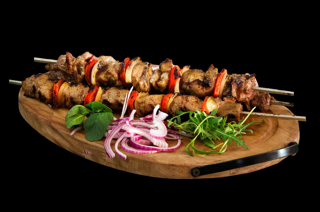 Skewer, Kebab, Barbecue, Food, Meat