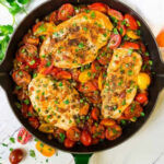 Skillet Tomato Chicken | Well Plated By Erin