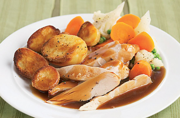 Slimming World's roast dinner recipe - goodtoknow