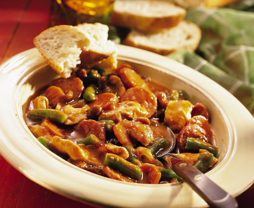 Slow-Cooked Chicken and Sausage Stew Recipe