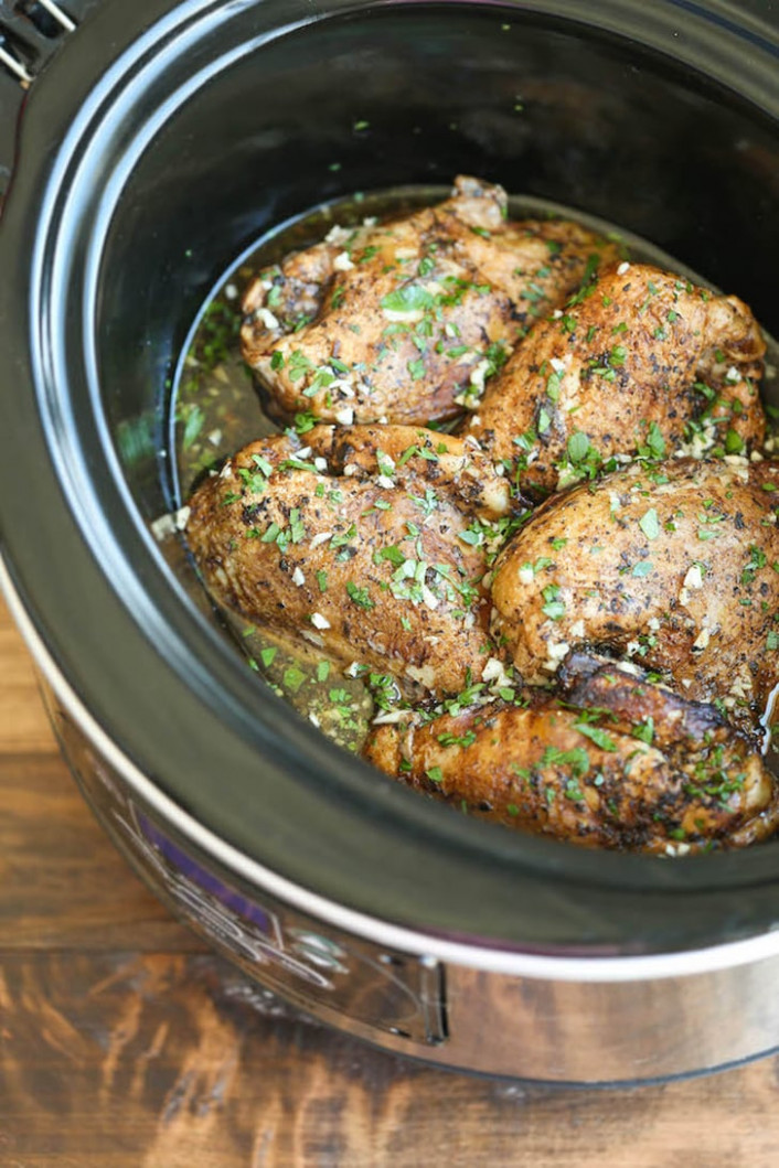 Slow-Cooker Balsamic Chicken Breasts | One-Pot Italian ...