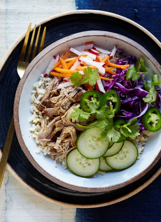 Slow-Cooker Banh Mi Rice Bowls