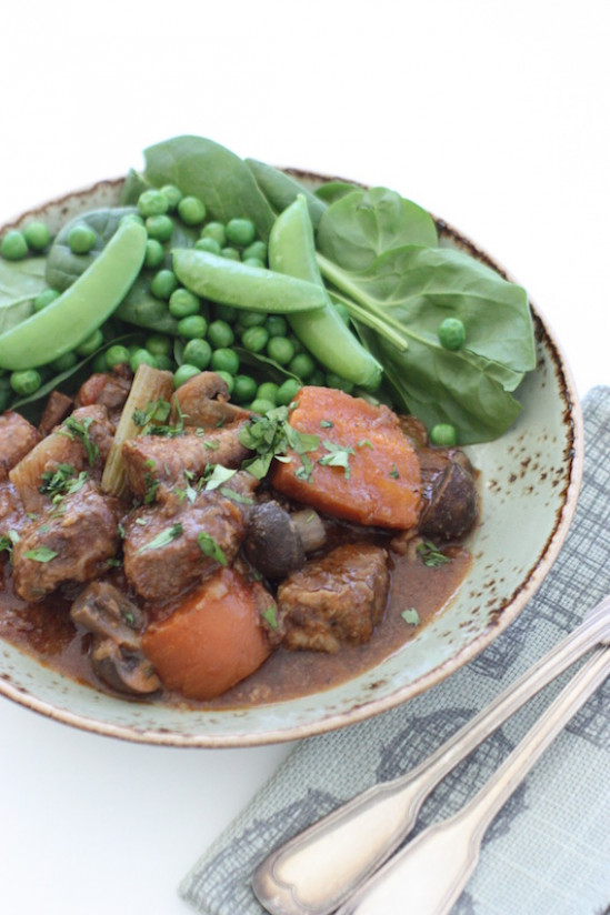 Slow cooker Beef & Sausage Casserole - simple & hearty ...