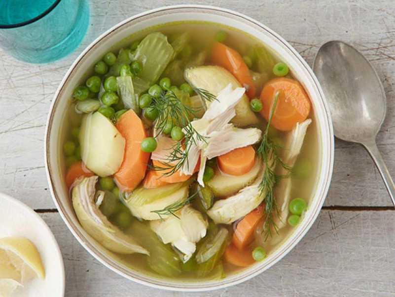 Slow Cooker Chicken And Vegetable Soup Recipe | Food …