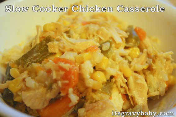 Slow Cooker Chicken Casserole with #NewKnorrStock - It's ...