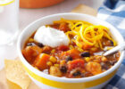 Slow Cooker Chicken & Sweet Potato Chili