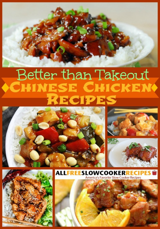Slow Cooker Chinese Food: 10 Slow Cooker Chinese Chicken ...