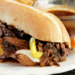 Slow Cooker French Dip Sandwich | RecipeLion