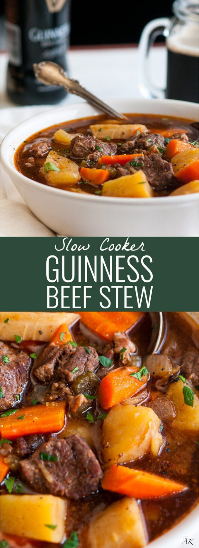 Slow Cooker Guinness Beef Stew | Recipe | Food - Soups ...