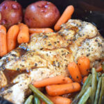 Slow Cooker Honey Garlic Chicken and Vegetables - Feel ...
