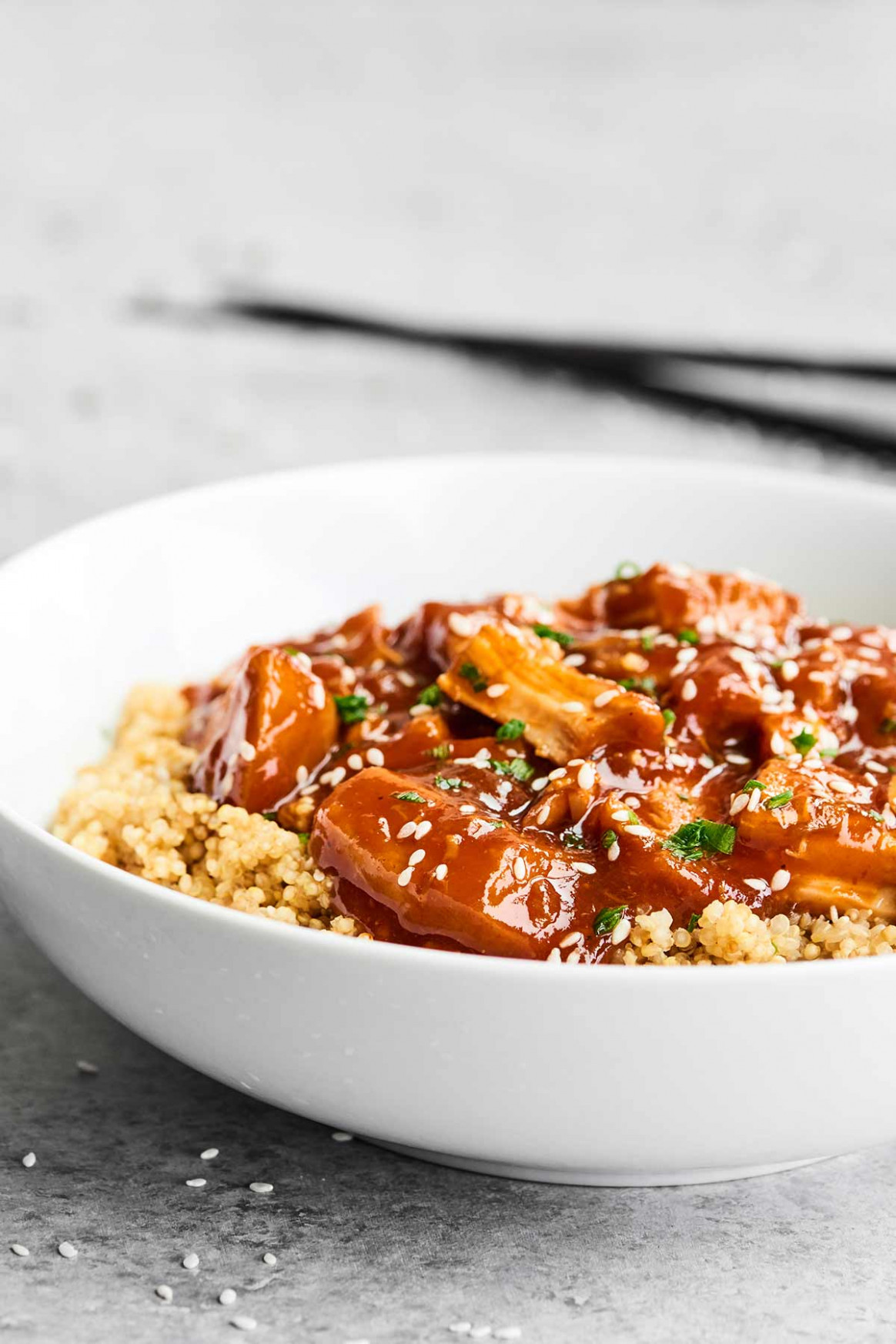 Slow Cooker Honey Sriracha Chicken Recipe