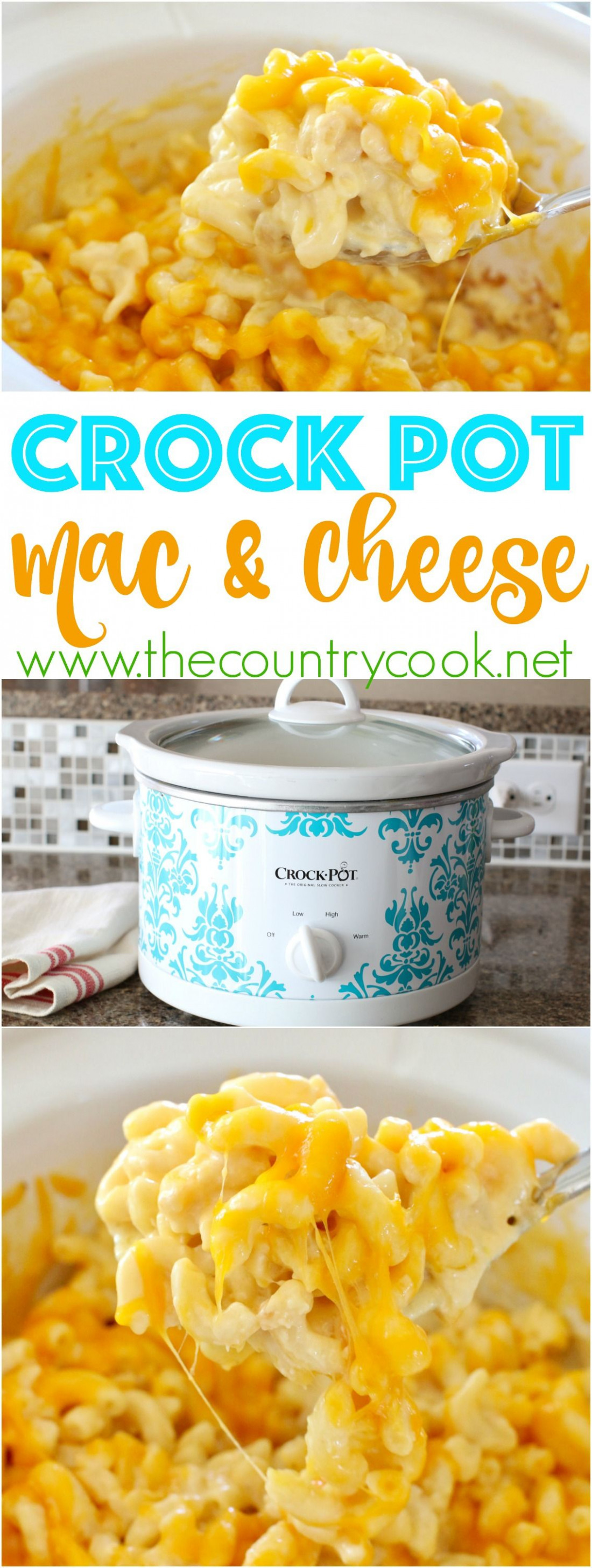 Slow Cooker Macaroni and Cheese | Recipe | Crockpot ...