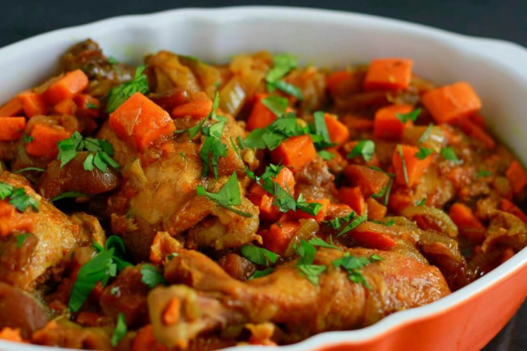 Slow Cooker Moroccan Chicken – Savory Lotus
