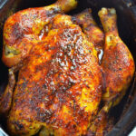 Slow Cooker Rotisserie Chicken – OMG Chocolate Desserts