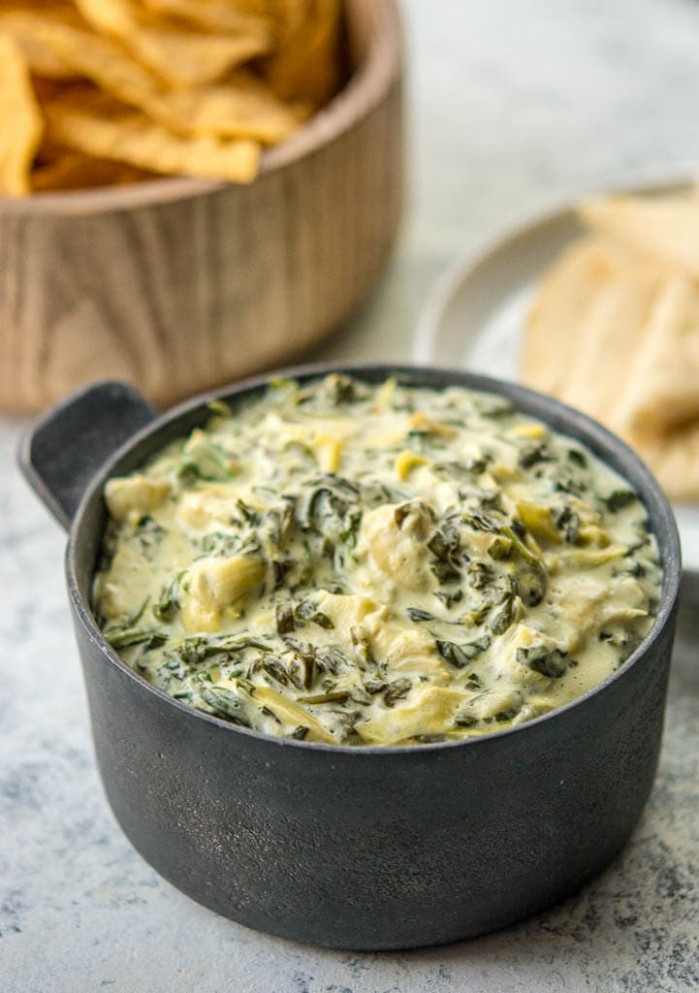 Slow Cooker Spinach and Artichoke Dip - Slow Cooker Gourmet