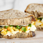Smashed Egg Sandwiches | Food In A Minute