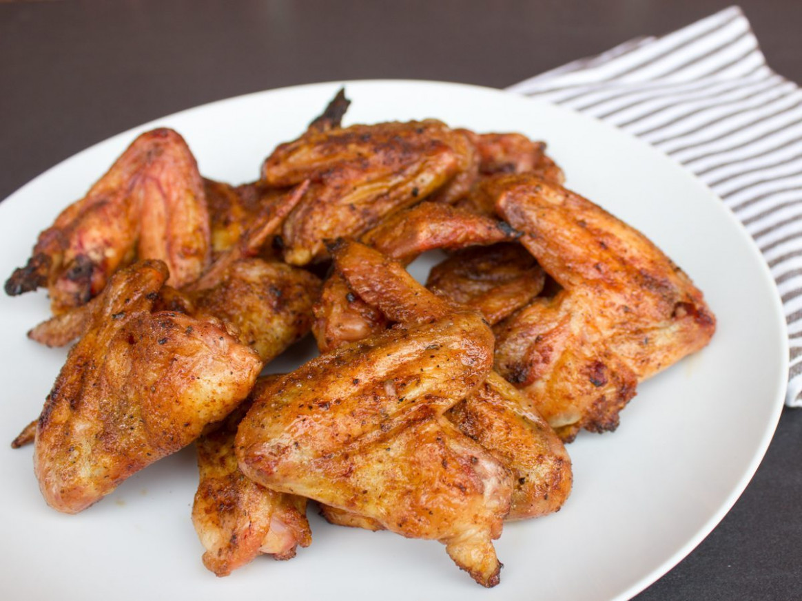 Smoked Salt And Pepper Chicken Wings