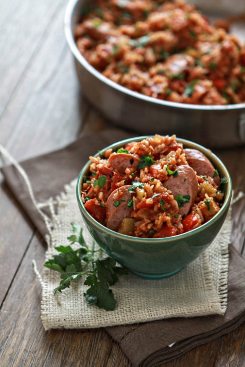 Smoked Sausage Jambalaya (One Pan!) | Good Life Eats