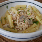 Smoked Trout And Mushroom Ziti W/Cream Mustard Sauce