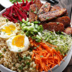 Smoky Tempeh Vegetable And Rice Bowl | SoupAddict