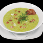 Soup, Broccoli, Bowl, Meal, Dish, French