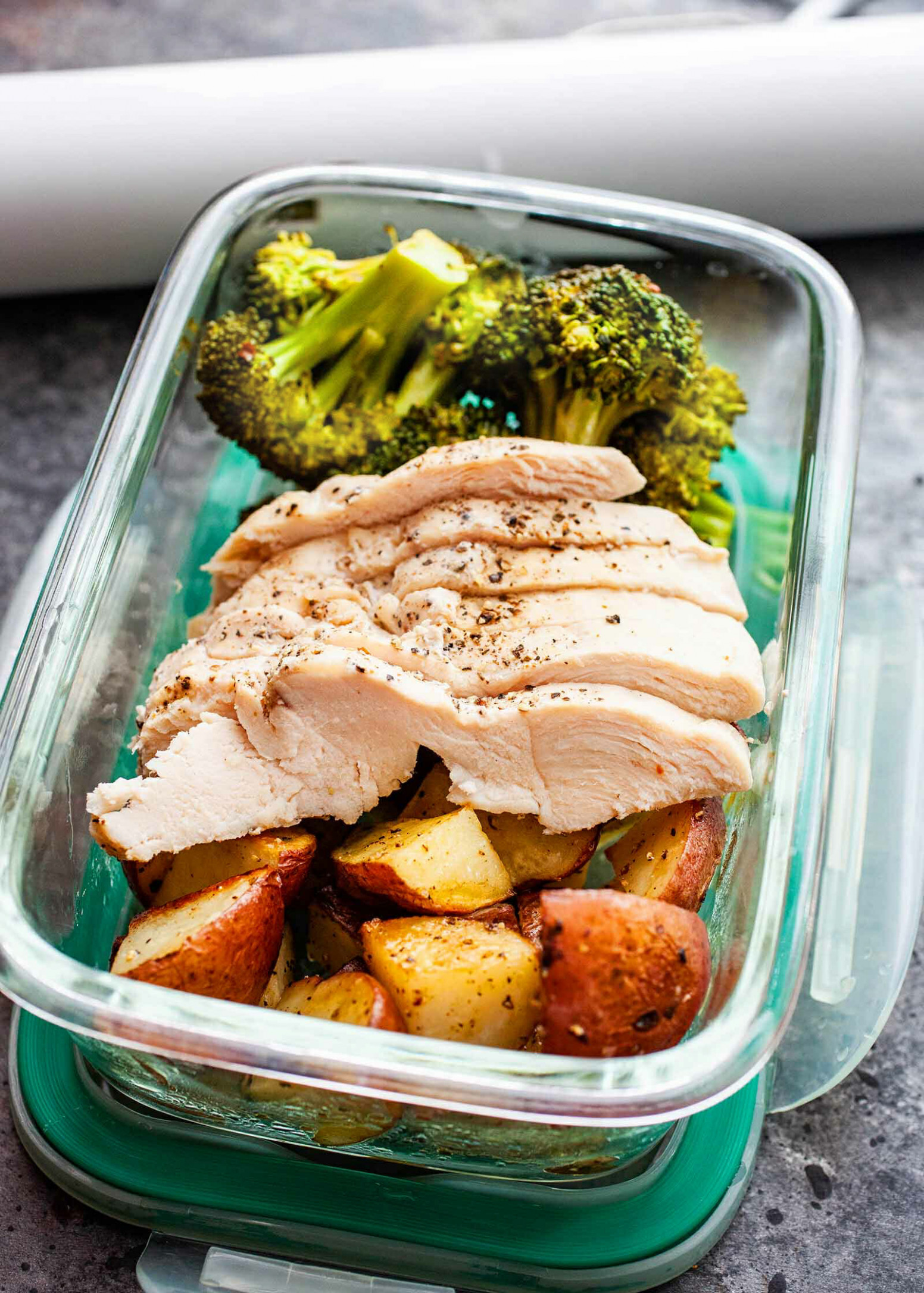 Sous Vide Chicken And Broccoli
