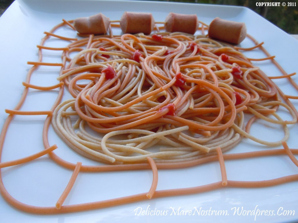 Spaghetti & Sausages Train